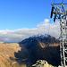 Au Bochtehorn (2473m). Pied du télécabine privé de l'usine électrique (Aegina Kraftwerk).