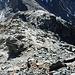 Abstieg auf dem Südwestgrat zum Punkt 2848 m