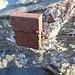 das Gipfelbuch-behältnis bewährt sich auch noch nach 17 Jahren