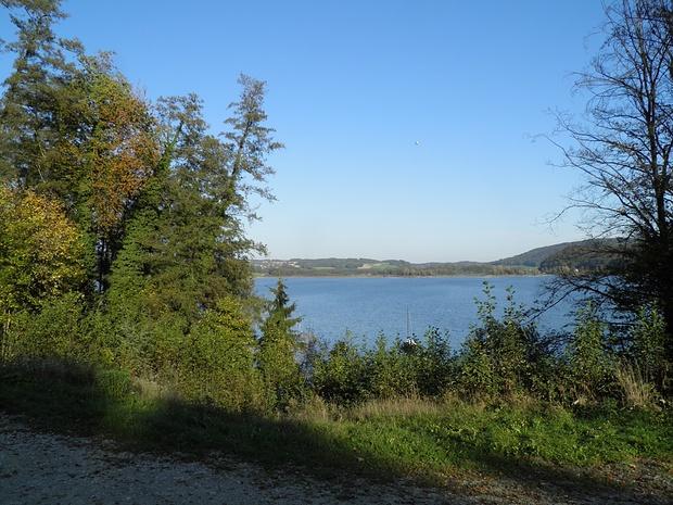der über 6km lange Simssee
