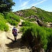 Flache Passage zum Sattel zwischen Pico Grande und Pico do Cerco.