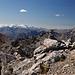 Gipfelrast mit Mega-Panorama
