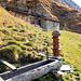A Ebnet, fontaine et abri pour berger.