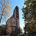 Gotischer Südwest-Turm von Westen betrachtet