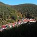 Ortsteil Hardenburg, dahinter der Wintersberg