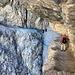 Passage légendaire du Sentiero degli Alpini entre l'Inneres Loch et l'Ausseres Loch