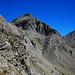 Der Steig im Kar unterhalb des Sommet des Garrets