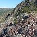 rotes Gestein am Monte Tregin
