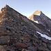 Blick von der Unteren Rötspitze zum Gipfel