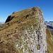 Gelände am Gipfel des Druesberg.