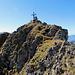 Rückblick zum Gipfel des Druesberges.