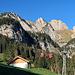 die Bergbahn auf die Alp Gamplüt