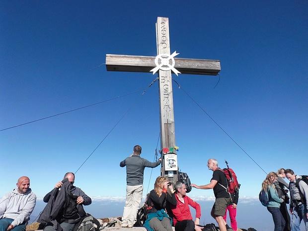 Viel Trubel auf dem Gipfel