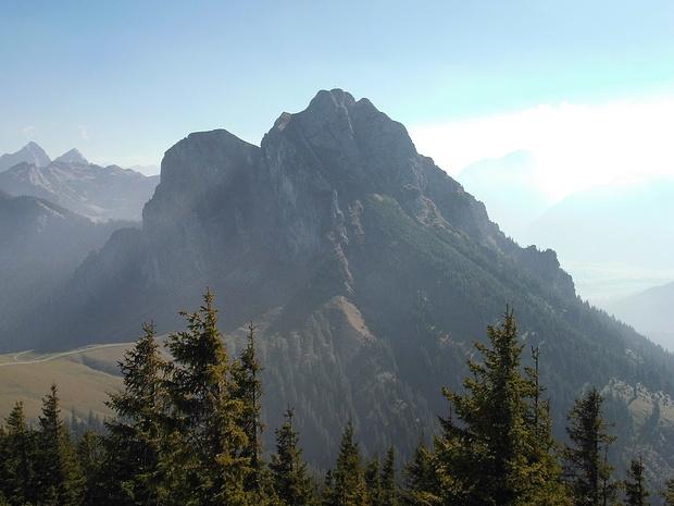 Blick vom Breitenberg zum Aggenstein