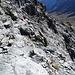 wenige Meter vor dem Gipfel