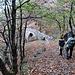 """Il ponte """"romano"""" di Laù, sorpassa il torrente Orino ad un'altezza di 50 metri ed è lungo poco meno di 80 metri."""