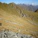 In discesa ormai su traccia verso l'Alpe Addiaccio.