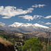 Fast wieder in Carhuaz. Die Huaraz'er Gipfel kommen ins Blickfeld (Ranrapalca)