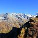 Vue sur le haut du Val d'Hérens.