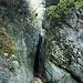 Der ausgetrocknete Balsthaler Wasserfall beim Büttyloch.