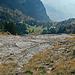 Tiefblick zur Alp Rohr