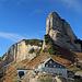 das Berggasthaus Stauberen von seiner schönsten Seite.