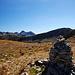 Der großräumige Gipfel der Tête de la Lave, rechts ist die Cime du Pertus zu sehen.
