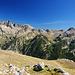 Die Berge jenseits des benachbarten Vallon de Gordolasque.