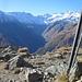 Tsaplana 2681 mt panorama sulla Valnontey.