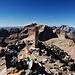 Am Gipfel des Mont Clapier