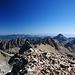 Blick Richtung Süden mit Mont Bego rechts.
