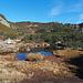 Idyllischer Steppensee bei der Sunnig Grat Hütte