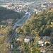 San Genesio - sopra Mondonico vista stazione FS di Olgiate