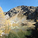 Während des Abstiegs: Spuren von Felsabbrüchen im Schutthang über dem Lac de Vens #3.