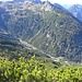 der Weg zur Gamsfreiheit bzw. Faludriga Alpe ist gut zu erkennen