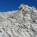 le rocce del picco terminale ( 2°+ ) esposto
