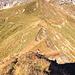 Aufstieg vom Sattel zwischen Großem Seekopf und Zeiger auf eben jenigen Großen Seekopf. Ganz am Anfang etwas schmal und leicht ausgesetzt, danach harmlos.