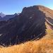 Eigentlich ein schöner, klobiger Berg, der Große Seekopf. Auch der Aufstieg über den Nordgrat folgt einer durchaus eleganten Linie...