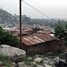 Die letzten Häuser von Dassa