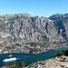 Bay of Kotor. Lovcen in the background
