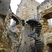 Ruine Château du Landskron, der Aufgang zum Turm