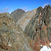 Von links Golegghorn (3077m), Ritzlihorn (3282m), Steinlauihorn (3162m)