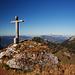 Eigenartiges Gipfelkreuz