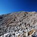 Fagstein, kaum zu sehen, links ist der Gipfel.