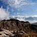 Eindrückliche Landschaft mit eindrücklichem Wolkenspiel