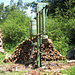 A log splitting machine - just bring your own tractor