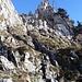 … bis man vor dem kleinen Klettersteig steht.