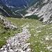 im unteren Moserkar gibt's klares Karwendelwasser