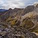 Blick zur Rotspitze, Strahlkopf, Ochsenkopf, Ramstallspitze.