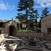 Unterwegs in den Vatikanischen Gärten (Giardini Vaticani) - Blick über den Hof der Casina di Pio IV.